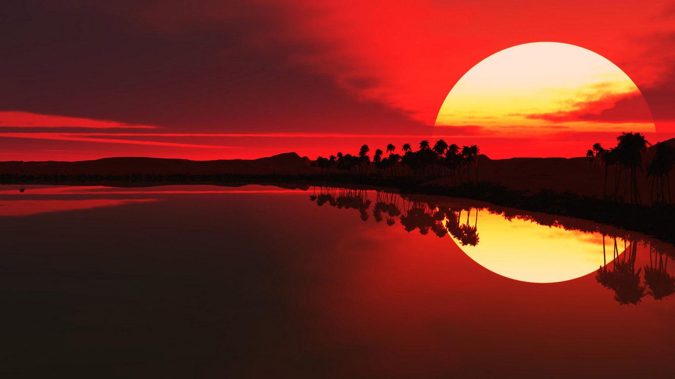 साँझ बिहान सूर्य किन रातो देखिन्छ ?
